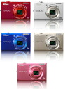 """Nikon Coolpix S6200 1600万 picture megapixel digital camera """"1 to 3 business days after shipping, fs3gm"""