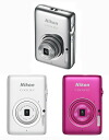"""Shipment three business days after immediate delivery ..."" has zoom well, and both the night view and the animation can take Nikon COOLPIX S02 compact digital camera neatly! Microminiature digital camera with a built-in built-in memory & c"