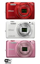 """Nikon COOLPIX S6800 digital camera """"shipment two business days after immediate delivery ..."""" [high-power zoom can photograph a clean photograph by a full function.] Compact deciTalca Mera who it supports Wi-Fi, and can easily transmit a message"""