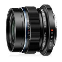 "Big diameter single focus wide-angle lens black dark-complexioned color [fs04gm][02P21Aug14] for OLYMPUS M.ZUIKO DIGITAL ED12mm F2.0 Black ""it is going to release it on September 20, 2014 reservation"" Olympus micro four SARS mirrorless one eyes"