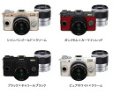 """PENTAX Q-S1 double zoom lens Kit color """"quick delivery-2 business days after shipping will ' Q-S 1 + 02 STANDARD ZOOM + 06 TELEPHOTO ZOOM [suitable for daily carry premiums Mall SLR camera lens Kit. ] [fs01gm]"""