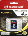 "Transcend 4 GB SDHC card Class10 ULTIMATE ""quick delivery-2 business days after shipping, fs3gm"