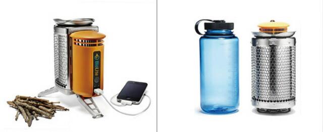 BioLite(バイオライト)製品外観とサイズ比較