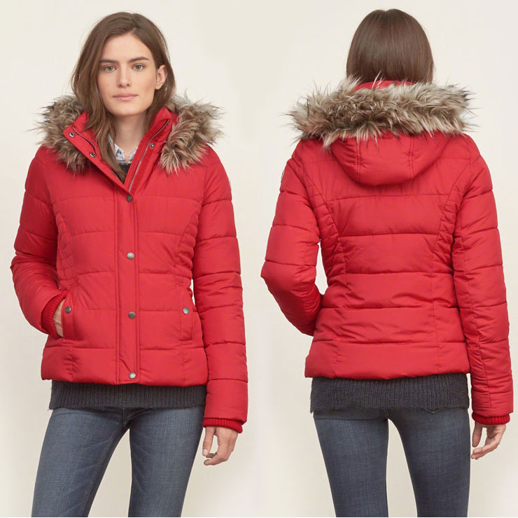 To sport a sleeker silhouette, you can pick one of our women's quilted jackets. Browse our selection of high neck and fur trim hooded women's puffer coats. To turn on the style quotient, you can team these coats with tees, denim jeans, and boots.