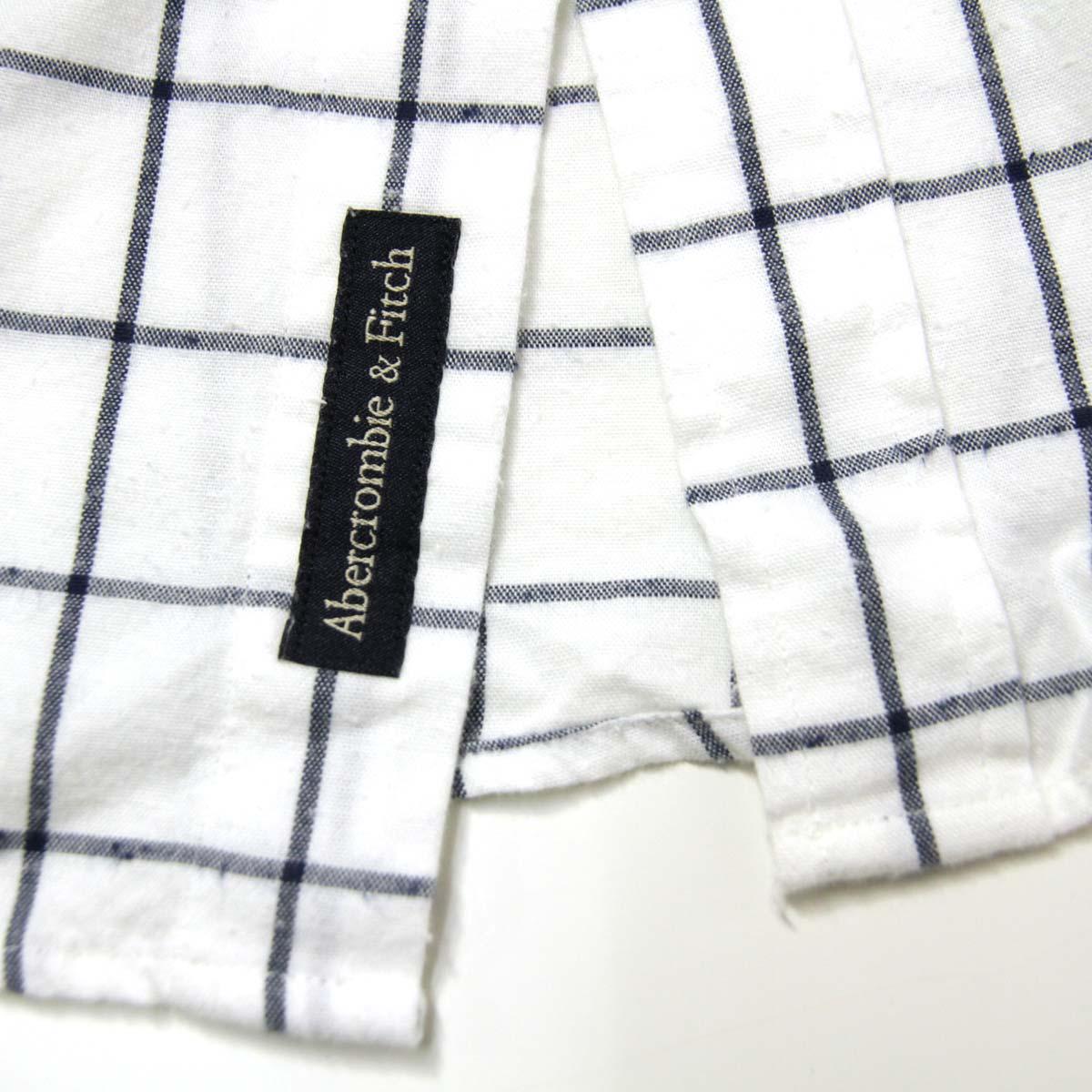 アバクロ Abercrombie&Fitch 正規品 メンズ 長袖シャツ Check Patterned Shirt 125-168-2179-218