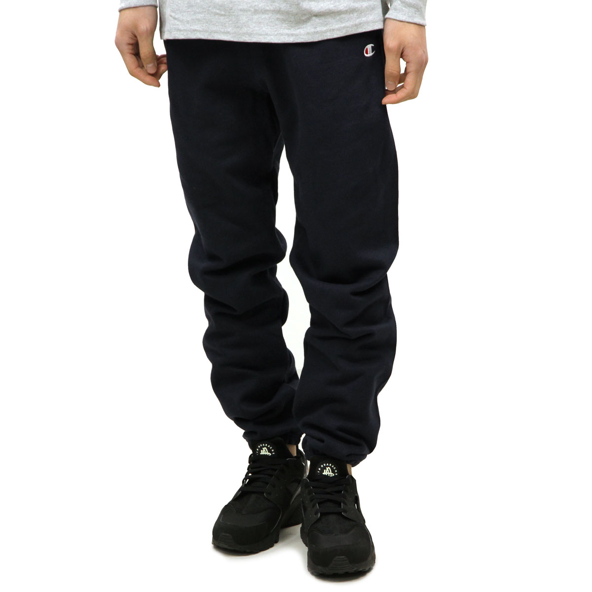 チャンピオン CHAMPION 正規品 メンズ ハーフパンツ SWEAT HALF PANTS P4971 Reverse Weave Pant w/ pockets 031-NAVY