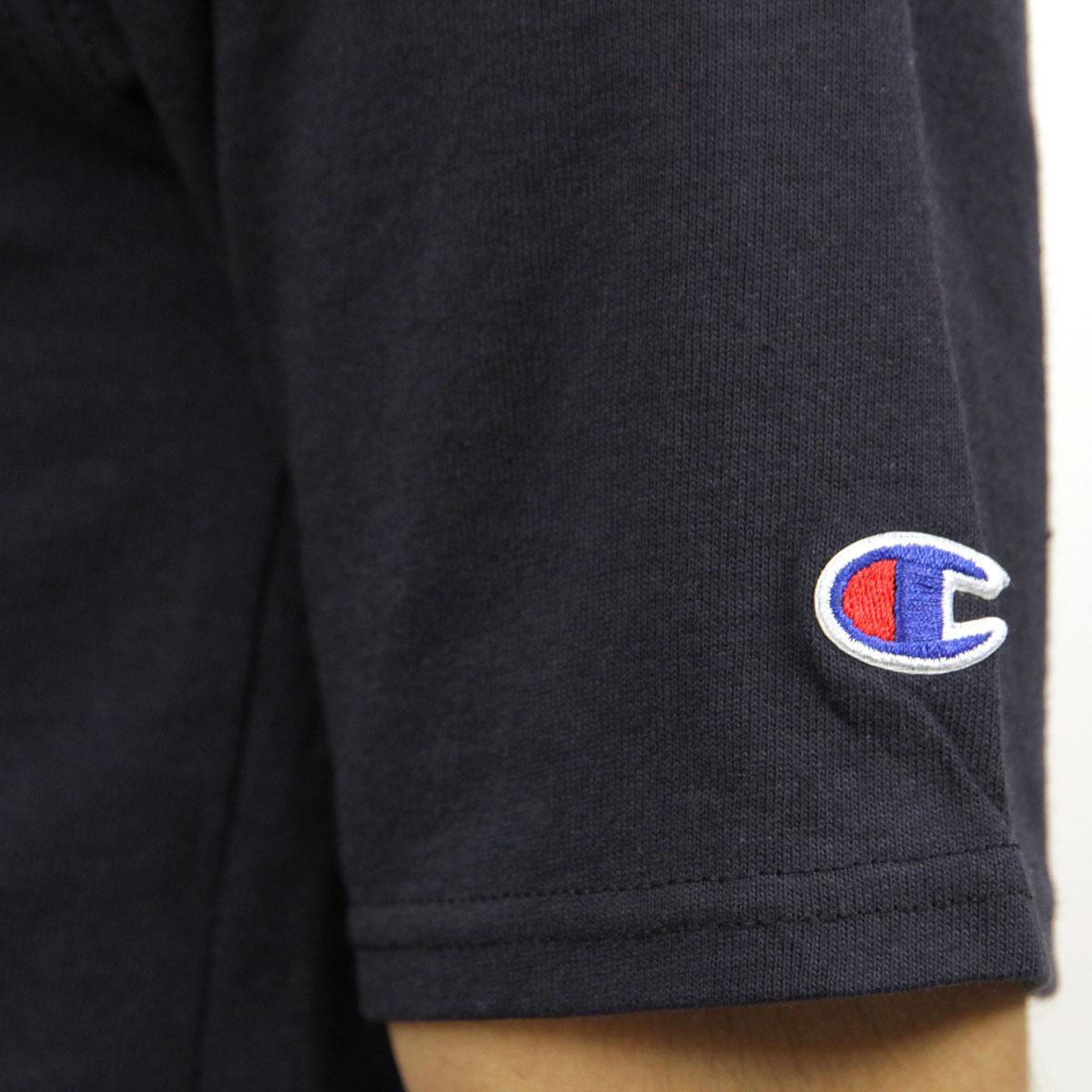 チャンピオン CHAMPION 正規品 メンズ 半袖Tシャツ CREW TEE T1919P Heritage Tee 031-NAVY 549393 USA Arch