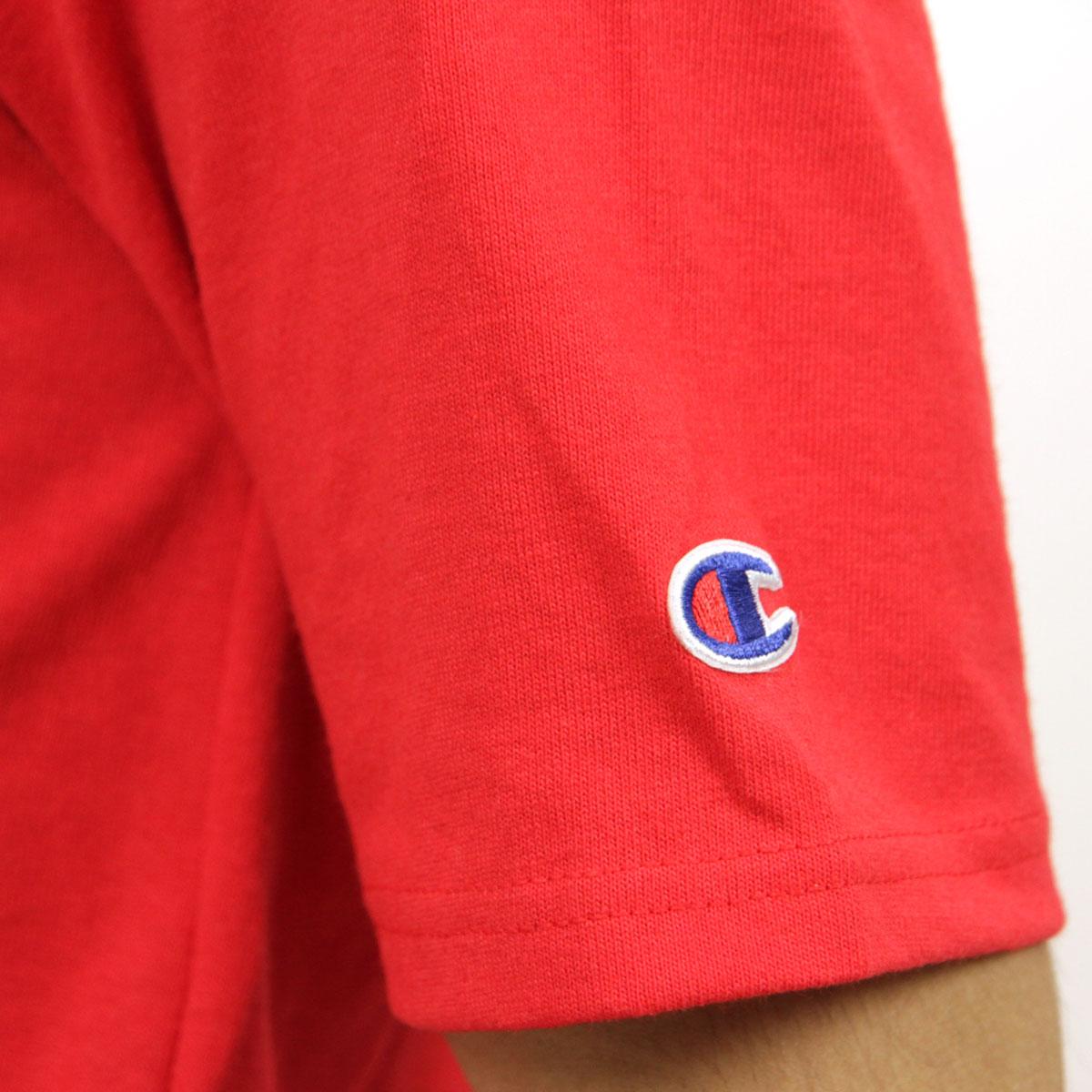 チャンピオン CHAMPION 正規品 メンズ 半袖Tシャツ CREW TEE T1919P Heritage Tee W3J-TEAMREDSCARLET #549500 PATRIOTIC C