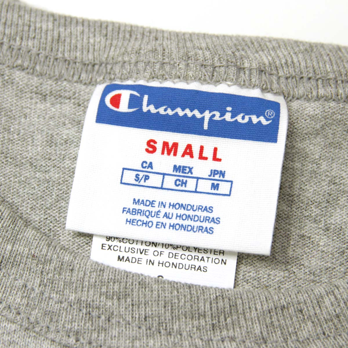 チャンピオン CHAMPION 正規品 メンズ 半袖Tシャツ CREW TEE T1919 Heritage Tee 806-OXFORDGREY