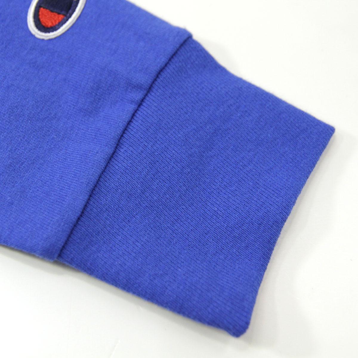 チャンピオン CHAMPION 正規品 メンズ 長袖Tシャツ L/S TEE T2229 Cotton Long Sleeve Tee GUX-SURFTHEWEB C logo on left sleeve