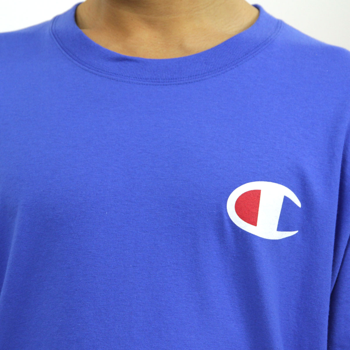 チャンピオン CHAMPION 正規品 メンズ 長袖Tシャツ L/S TEE T2229P Cotton Long Sleeve Tee GUX-SURFTHEWEB #549506 PATRIOTIC C LS