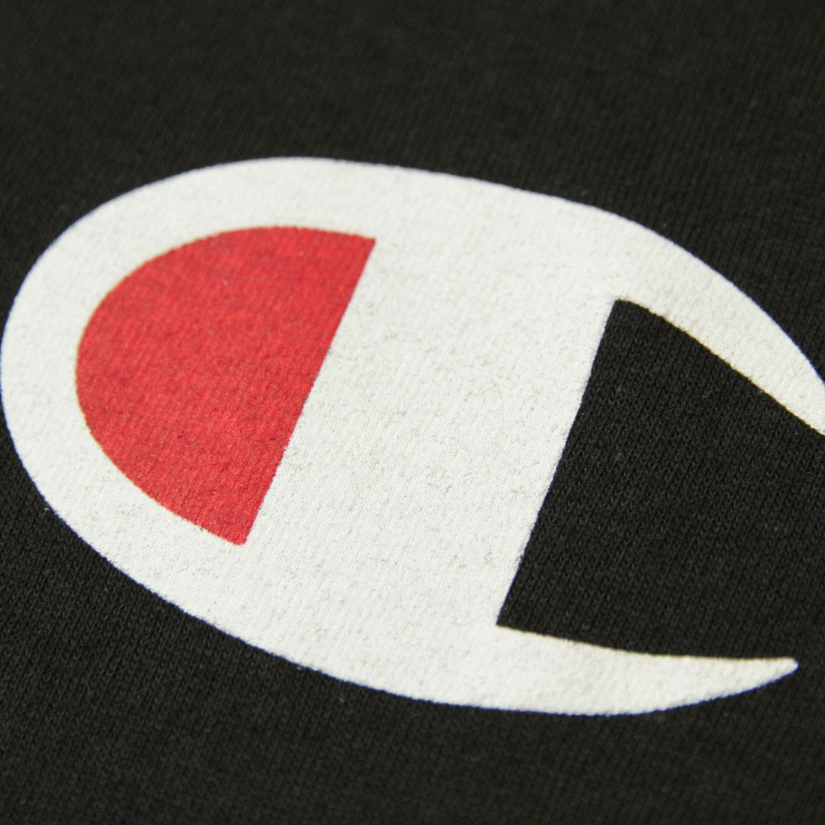 チャンピオン CHAMPION 正規品 メンズ 長袖Tシャツ L/S TEE T2229P Cotton Long Sleeve Tee 003-BLACK #549506 PATRIOTIC C LS