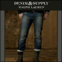 DENIM SUPLLY RALPH LAUREN Ralph Lauren genuine mens jeans Slim-Fit Pierce Jean A44B B1C C2D D1E E06F10P28oct13