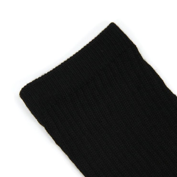 フルーツオブザルーム FRUIT OF THE LOOM 正規品 靴下 MEN'S 10PK CREW SOCKS M1900BXZUS Size.7-12 BLACK