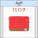 ハーシェル Herschel 10056-00017-11 H-121-80-03 Heritage Sleeve for 11inch Macbook Red PC 케이스 10P12Sep14