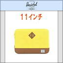 하-쉘 Herschel 10056-00023-11 Heritage Sleeve for 11 inch Macbook Lime Punch PC케이스 10 P22Jul14