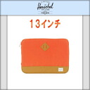 하-쉘 Herschel 10056-00022-13 Heritage Sleeve for 13 inch Macbook Camper Orange PC케이스 10 P22Jul14