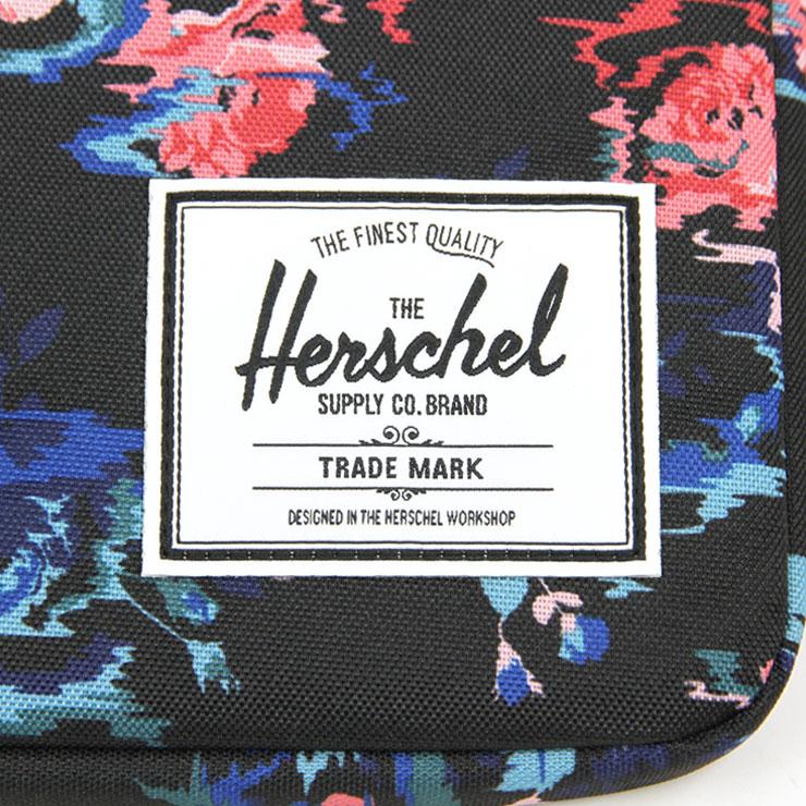 ハーシェル Herschel Supply 正規販売店 パソコンケース ANCHOR SLEEVE FOR MACBOOK 11INCH SLEEVES 10054-01262-11 FLORAL BLUR