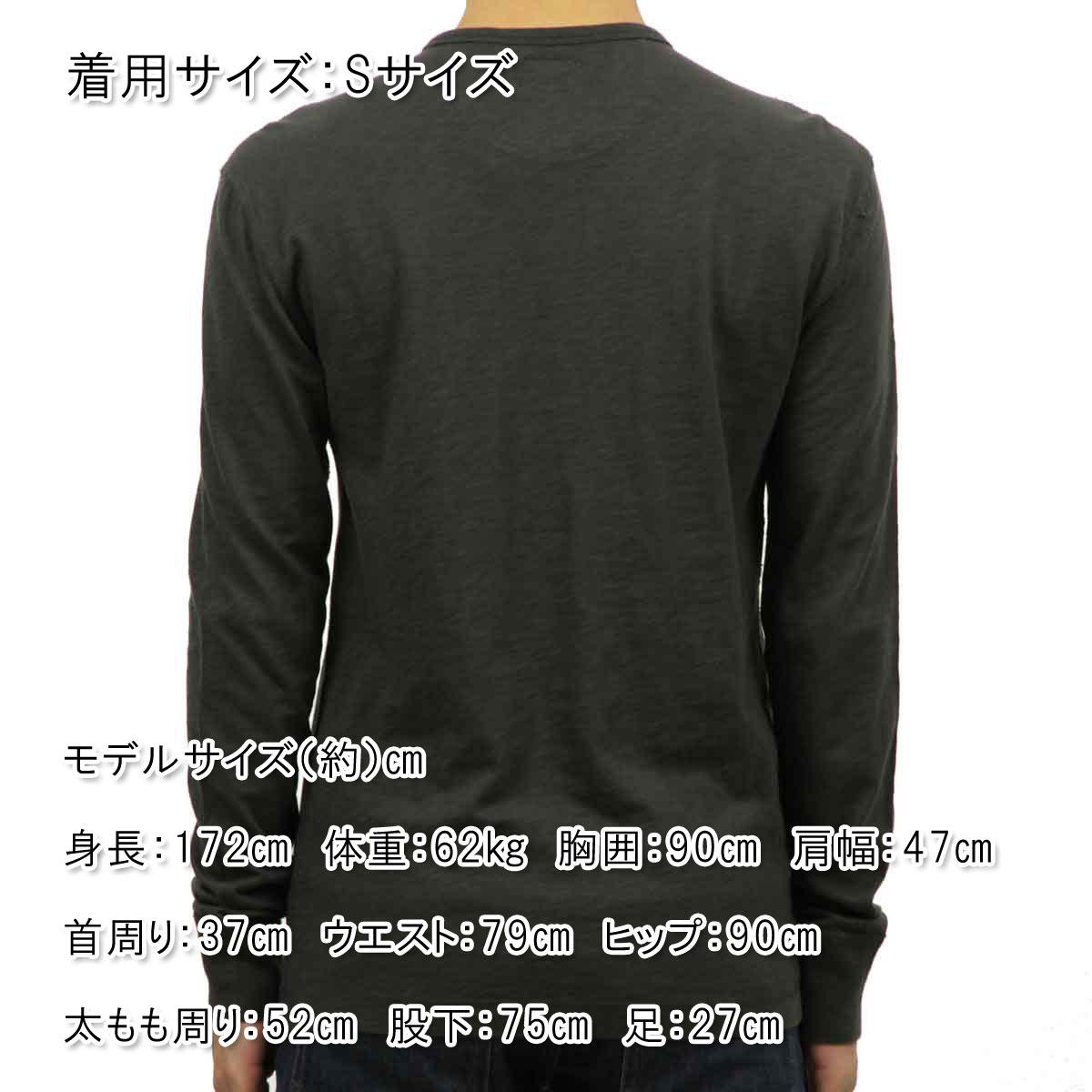 ジェイクルー J.CREW 正規品 メンズ 長袖Tシャツ TEXTURED COTTON HENLEY a9084