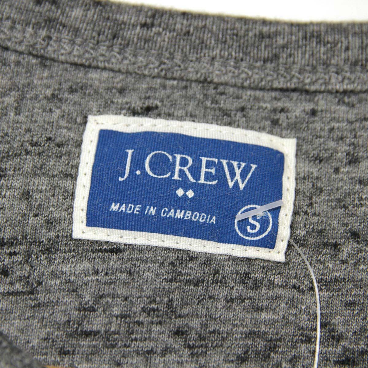 ジェイクルー J.CREW 正規品 メンズ 長袖Tシャツ MARLED COTTON HENLEY 02938