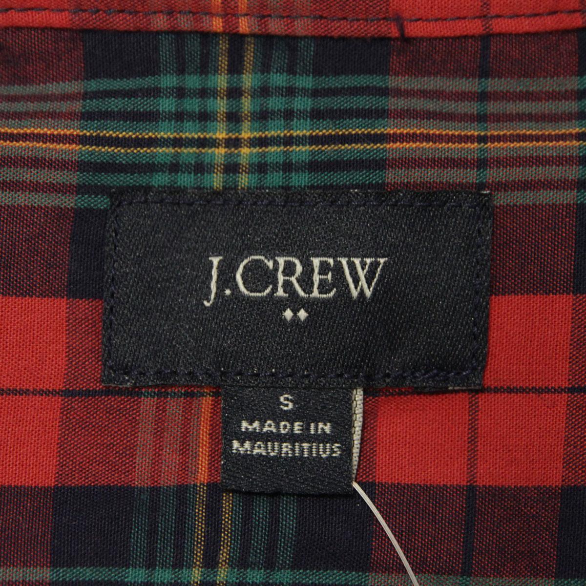 ジェイクルー J.CREW 正規品 メンズ 長袖シャツ PLAID WASHED SHIRT f7668