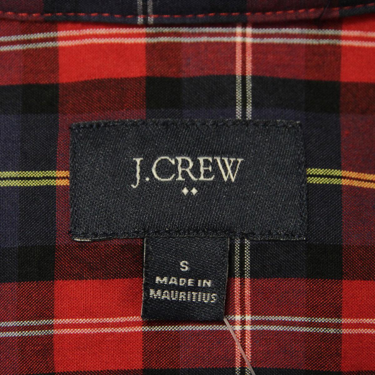 ジェイクルー J.CREW 正規品 メンズ 長袖シャツ WASHED SHIRT IN MEDIUM PLAID 44726