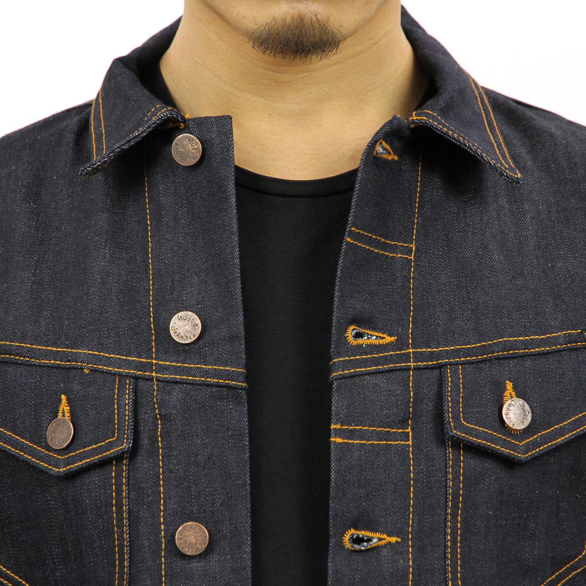 ヌーディージーンズ Nudie Jeans 正規販売店 メンズ アウタージャケット BILLY DRY RING DENIM JACKET 160471