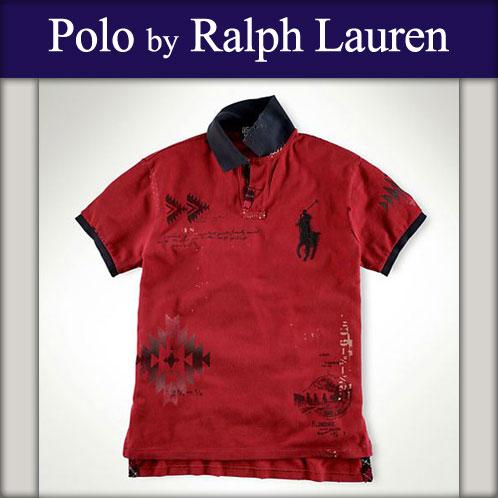 马球拉尔夫劳伦马球拉尔夫劳伦真正男装马球衬衫定制图案大小马红 10p