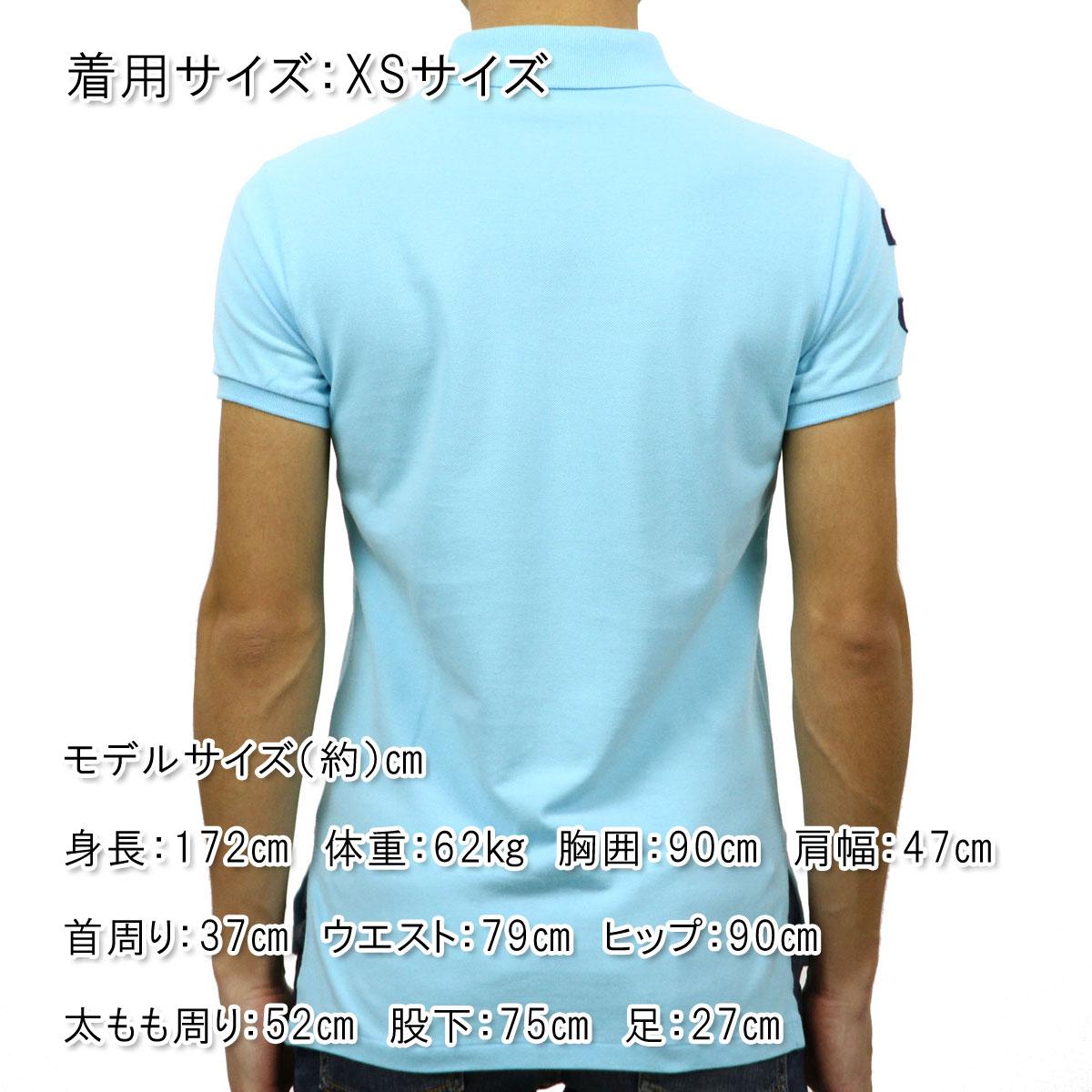 ポロラルフローレン POLO RALPH LAUREN 正規品 メンズ ポロシャツ CUSTOM-FIT BIG PONY POLO