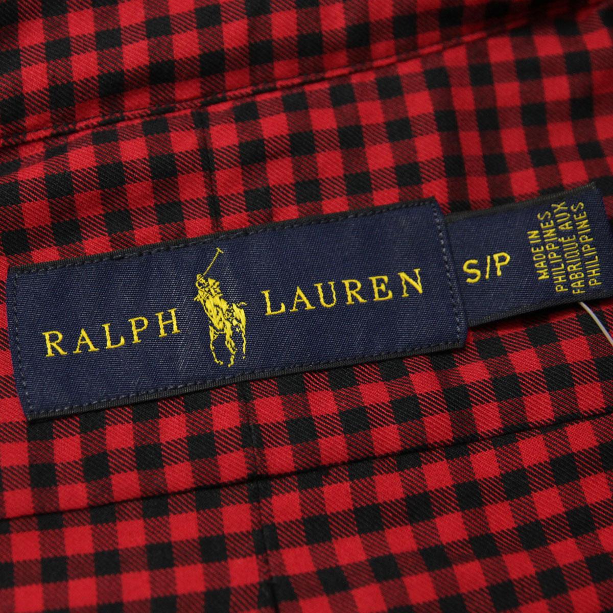 ポロラルフローレン POLO RALPH LAUREN 正規品 メンズ 長袖シャツ BUTTON DOWN CHECK LONG SLEEVE SHIRT