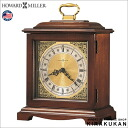 An import clock: It is table clock mixint Howardmiller (product made in Howard mirror company U.S.A.) table clock Graham Bracket 612-588