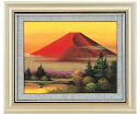 Okumura, kayoko made Red Fuji F6 oil paintings painting