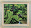 Picture Teruo Tsutsumi product moss temple F10 oil painting image picture