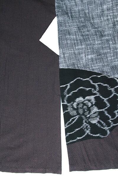 脇の縫い目利用のポケット