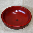 Former mikohata natural wood dough Bowl negoro-painted fs3gm