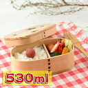 Bending magewappa oval lunch Bento box cherry Shiraki