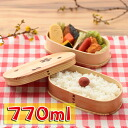 Bending \/ wappa oval double iriko lunch box cherry Shiraki