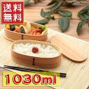 Bending magewappa oval double iriko lunchbox Shiraki fs3gm