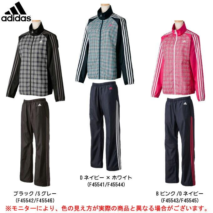 adidas(アディダス) AE 裏起毛ウインド 上下セット(WD487/WD489) (ウインドブレーカー/ジャケット/パンツ/女性用/レディース)