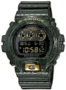 Casio watch men foreign countries model CASIO Crazy Colors clock DW6900CR-3