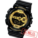 Casio CASIO watch men's g-shock black × gold series GD-100GB-1JF 02P04oct13