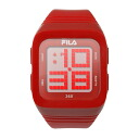 FILA Fila 360-degree SENSOR Digital Watch Red FCD001-102 02P04oct13
