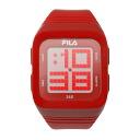 FILA Fila 360-degree SENSOR Digital Watch Red FCD001-102 02P04oct13