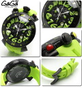 ガガミラノ watches mens Womens CHRONO 48MM green rubber GaGa MILANO watches chronograph 6054.2 02P04oct13