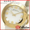 ~ 10 / 31 Marc by Marc Jacobs Watch Womens Amy GP / white MBM1150 02P04oct13