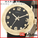 Mark by MARC BY marc jacobs watch Lady's Amy GP/ black MBM1154 02P22Nov13