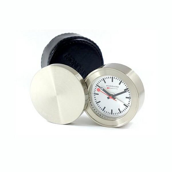 Mkcollection Rakuten Global Market Mondaine Mondaine Travel Alarm Pocket Watch Desk Clocks