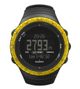 Suunto watches mens Womens domestic genuine core Black Yellow Core Black Yellow SUUNTO watch SS013315010 02P01Feb14
