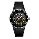 SWISS MILITARY ( swismiglitary ) by Grovana GMT date carbon black / yellow 1606.1871 02P22Nov13