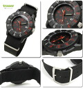 Tracer military TYPE6 black & red watch mens Japan limited model P6500.400.35.01 02P04oct13